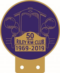 50th anniversary car badge